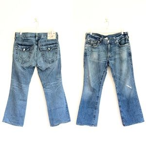 True Religion Ricky Relaxed Distressed Jeans
